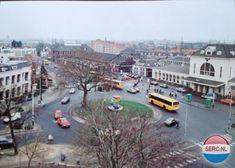 Het Stationsplein omstreeks 1985
