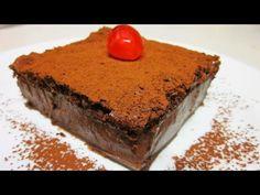 Tarta Mágica de Chocolate - Cocina y Thermomix TM5 [tradicional] - MundoRecetas.com