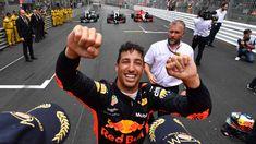 Daniel Ricciardo plays down his title chances after his Monaco victory moves him up to third place in the world championship. Ricciardo F1, Daniel Ricciardo, Monaco Grand Prix, Honey Badger, F1 Drivers, Wallpaper Ideas, World Championship, Formula One, Marketing Tools