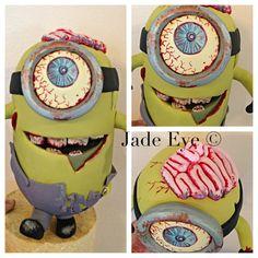 Zombie Minion cake topper