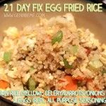 21 day fix fried rice