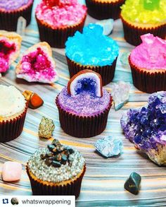 How gorgeous! It's druzy' cakes #Repost @whatswrappening with @repostapp. Oh. My. God! Someone just posted this into a group I follow and WOW!! This is so insanely beautiful . Someone please tag the creator so I can give proper credit!! #minerals #geology #gemstones #cake #gems #cupcakes #geology #handmade #rockhound #boho #mermaid #geode #baker #dessert #gypsyjewelry #crystals #handcrafted . #whitelinkjewelry #ドゥルージー #ケーキ #カップケーキ #天然石 #天然石アクセサリー #yummy #かわいい by xxwhitelinkxx