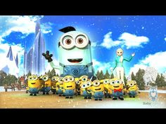 Elsa and the Minions Jazz Up The ABC Song | Learn the English Alphabet - YouTube
