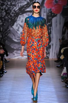 Tsumori Chisato Fall 2013 Ready-to-Wear Fashion Show