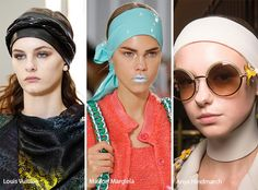 Spring/ Summer 2017 Hair Accessory Trends: Headwraps