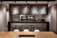 Icrave New York | #Kitchenette | #MicroKitchen | #BreakRoom | #MeetingArea | #InteriorDesign | #Work | #Office | #Modern |