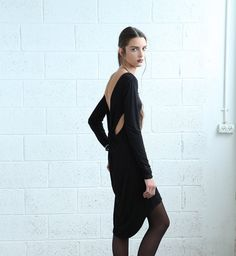 SALE 70% OFF Backless Party Dress - Black on Etsy, $59.00