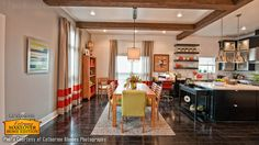 Dining Room Pictures | Ceiling Beam Dining Room Designs