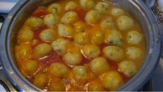Jedinečná polievka so zemiakovými knedlíčkami ako od babičky pripravená za 10 minút!