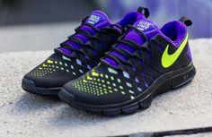 Nike Free Trainer 5.0 NRG - Black / Volt - Electro Purple (3)