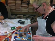 Make a mosaic of ceramic & glass in the style of famous Barcelona artist Antoni Gaudi with Nicole at her Gaudi & Mosaic class in #Barcelona. $50