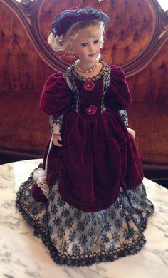 House of Lloyd Elegant Victorian Doll Circa 1990