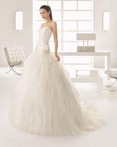 ESPIGA vestido de novia Rosa Clará Two 2017