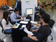 중국논문 CNKI 에 대한 관심도 높았습니다. 중국유학생이 가장 많이 방문한 부스이기도 합니다.