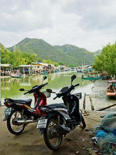Hua Hin, Thailand | Die vissersdorpie Bang Po