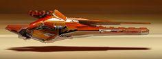 ArtStation - Racer ships, Long Pham