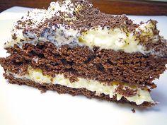Schokoladen - Vanille Torte