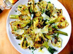 grilled fennel platter