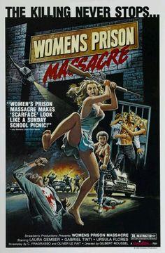 WOMANS PRISON MASSACRE MOVIE POSTER