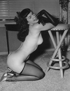 Bettie Page via nevver: Retro Dome