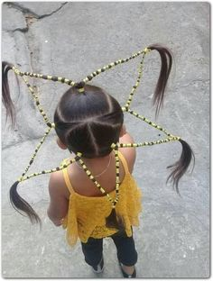 Love seeing all those creative hairstyles for crazy hair day? Well, we've gathered 75 of the most artistic, fun, and beautiful hairstyles that you'll love. Wacky Hair Days, Crazy Hair Days, Creative Hairstyles, Cute Hairstyles, High Fashion Makeup, Star Hair, Mermaid Makeup, Fairy Makeup, Makeup Art