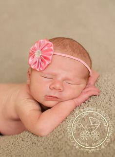Light Pink Baby Headband - Baby Girl Headbands - Toddler Headband - Easter Headbands - Baby Hair Accessories- Newborn Headbands. $6.95, via Etsy.