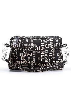 Chanel Canvas Shoulder Bag $695