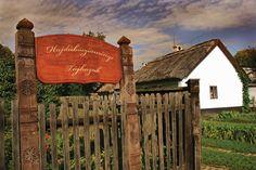 Hungarian folk architecture from the Hajdu region, eastern Hungary