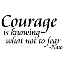 Filosoof Plato over moed