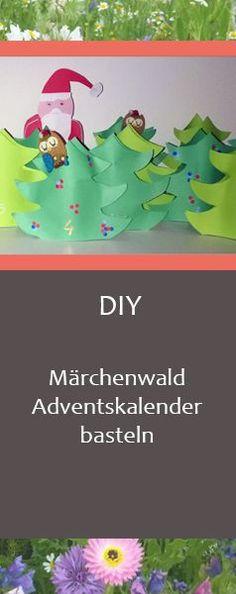 DIY-Adventskalender: Einfacher Märchenwald-Kalender