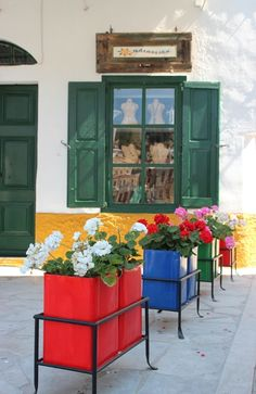 A collection of awesomeness from Santorini and other Greek islands. Some of these photos are owned. Green Shutters, Samos, Greece Islands, Small Island, Crete, Amazing Nature, Santorini, Beautiful Places, Amazing Places