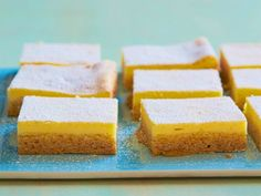 Shortcut Lemon Cream Squares  #RecipeOfTheDay