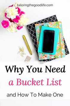 Create your bucket list today to get your dreams and goals clear. Don't just let them sit in the back of your head. Here are the steps to make a bucket list