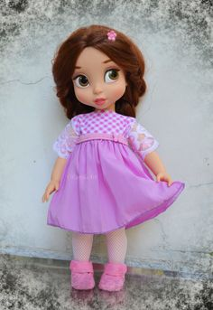 Belle disney animators collection dolls
