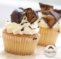 Indulgent Cupcake http://thecupcakedailyblog.com/indulgent-cupcake/
