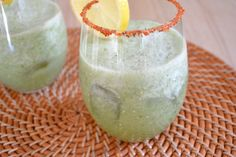 Maria Verde - Green Bloody Mary made with tomatillos