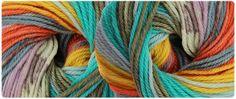 STELLA JACQ Adriafil:  le jacquard automatique! / The user-friendly jacquard / Lo jacquard che si fa da sè!  #adriafil #jacquard #yarn #yarns #knit #knitting #selfpatterning #selfstriping #colours #colore #shade #tricot #tricoter #aran #wool #laine #wolle #lana #merino #superwash