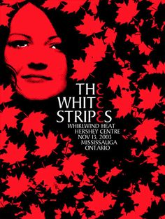 The White Stripes music gig posters | concert poster on Tumblr