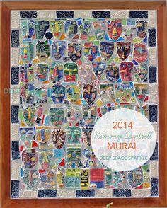 Kimmy Cantrell Inspired Ceramic Tile Mural
