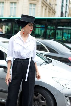 Ulyana Sergeenko - Couture Culture: The Best Street Style from Paris - July 2016