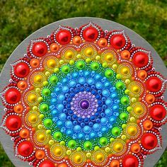 Best 11 This dot mandala is one of my favorites – SkillOfKing. Mandala Painted Rocks, Mandala Rocks, Hand Painted Rocks, Dot Art Painting, Mandala Painting, Stone Painting, Mandala Design, Mandala Pattern, Mandela Rock Painting