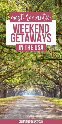 Romantic Weekend Getaways, Romantic Vacations, Romantic Travel, Romantic Escapes, Usa Travel Guide, Travel Usa, Travel Tips, Travel Guides, Amazing Destinations