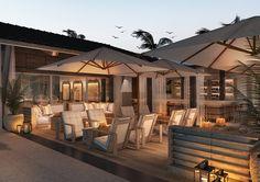 UNICO Hotel Riviera Maya – A food lovers' heaven - Luxuria Lifestyle Riviera Maya, Rivera Maya Mexico, Maya Design, All Inclusive Packages, Beach Cafe, Hotel Branding, Mexico Travel, Dream Vacations, Gazebo
