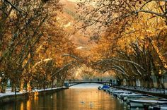 Bridge of love, Annecy, France