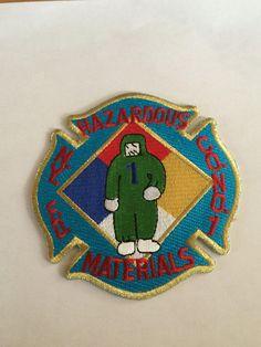 New York City Fire Department Hazardous Materials Company No.1 Patch.