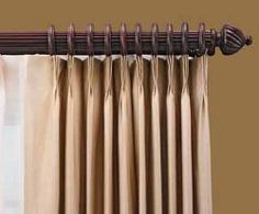 1000 Images About Wood Curtain Rod Poles On Pinterest