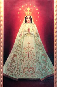 the virgin of mary blessed Titles