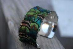 Bridesmaid accessories @Lauren Davison Davison for your friend's peacock wedding...