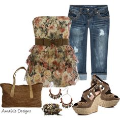 """""""Spring is int eh air"""" by amabiledesigns on Polyvore"""
