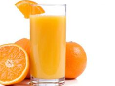 Vitamin C , Orange Juice is high in Vitamin C and protects against immune system deficiencies and cardiovascular disease.